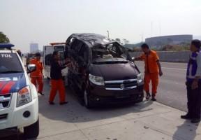 Kecelakaan Maut di Tol Sentul, Tiga Tewas