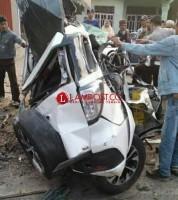 Kecelakaan Maut Libatkan Kabid Kawasan Permukiman Dinas PU Mesuji