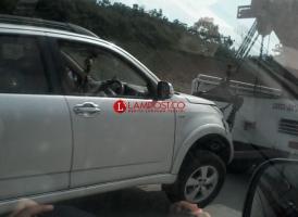 Kecelakaan Tunggal di Tol Sidomulyo