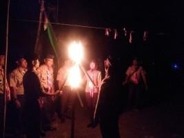 Kegiatan Perkemahan Tumbuhkan Budaya Gotong Royong