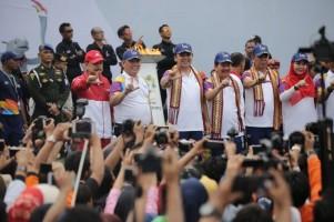 Kehadiran Kirab Api Obor Asian Games Jadi Motivasi Majukan Olahraga di Lampung