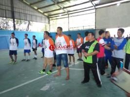 Kejaksaan Negeri Way Kanan Gelar Pertandingan Futsal Bersama PWI