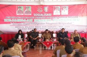 Kejari Pringsewu Sosialisasi Hukum Perdata dan Tata Usaha