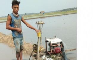 Kelangkaan Gas Melon di Lampung Selatan untuk Sedot Air di Sawah