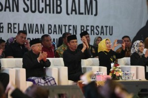 Keluarga Besar Alm. Haji Chasan, Ulama dan Pendekar Banten Dukung Jokowi-KH Ma'ruf