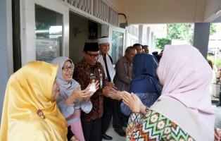 Keluarga Besar BKD Lamsel Gelar Halalbihalal