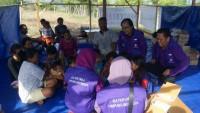 Keluarga Besar IKA Unila dan IKA FKIP Buka Taman Baca di Palu