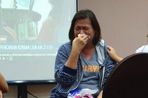 Keluarga Penumpang Lion Air PK-LQP Menuntut Pihak Maskapai Proaktif