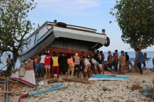 Kembali dari Pengungsian, Warga Pulausebesi Kembali Beraktivitas