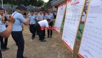 Kemenkum dan HAM Apel Deklarasi Kinerja 2019 di Lampura