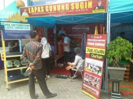 Kemenkumham Lampung HadirkanCollectional Fair Pertama dan Terbesar