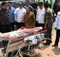 Kementerian ESDM dan Kementan Bantu Sumur Bor dan Alsintan ke Lamtim