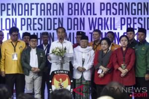 Kepala Daerah Pendukung Jokowi-Ma'ruf akan Didaftarkan ke KPUD