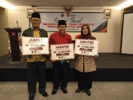 Kepala MAN 1 Metro Terima Anugerah Guru Berprestasi Nasional