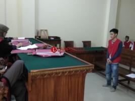 Kepemilikan Sabu 2,3445 Gram Dituntut 9 Tahun Penjara
