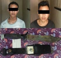 Kepergok Mencuri, Dua Warga Rebangtangkas Diamankan Polisi
