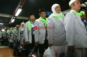 Kepulangan Jemaah Haji Lampung Berakhir 14 September