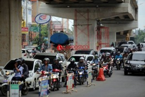 Kerap Macet, DPRD Dukung Rekayasa Lalin di Bawah Flyover MBK