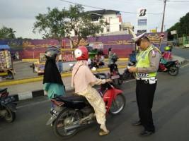 Kesadaran Masyarakat Lampung Utara Berlalu Lintas Masih Rendah