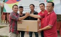 Ketua DPRD Lamsel Beri Warepack ke Atlet Berprestasi