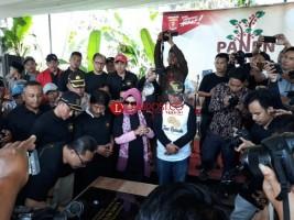 Ketua MPR Resmikan Kampung Kopi di Lampung Barat