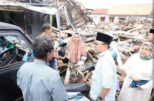 Ketua MPR RI Kembali Kunjungi Korban Tsunami di Lampung Selatan