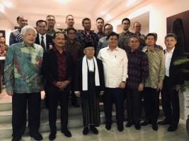 Kiai Ma'ruf Sambangi Tokoh Masyarakat Indonesia di Singapura
