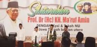 Kiai Se-Jateng Bagian Utara-Ma'ruf Amin Minta Nahdliyin Siapkan Landasan 100 Tahun Kedua NU