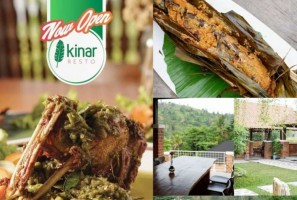 Kinar Resto Tawarkan Menu Nusantara