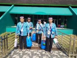 Kloter Pertama Jamaah Haji Lampung Tiba Dini Hari Nanti