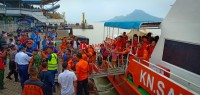 KMP Persada Mutiara II Kandas di Pulau Rimau Balak, 516 Penumpang Selamat