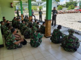 Kodim 0427/Way Kanan Kirim 30 Personel untuk Tugas Operasi Kemanusiaan di Lamsel