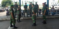 Kodim Lamsel dan Marinir Perkuat Pengamanan di Pintu Masuk Pelabuhan