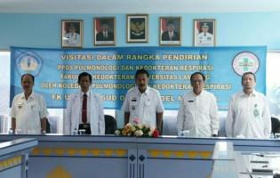 Kolegium Pulmonologi Visitasi PPDS Kedokteran Unila