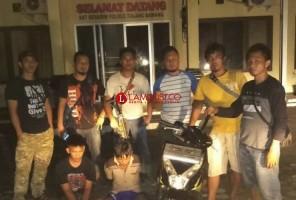 Komplotan Begal Ditangkap Polres Tuba, Satu Pelaku Masih Pelajar