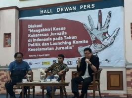Komunitas Masyarakat Pers DeklarasikanKomite Keselamatan Jurnalis