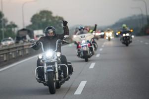 Komunitas Moge Asal Indonesia Lakukan Touring Malaysia-Thailand