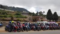 Komunitas S'Pong Gelar Touring ke Dataran Tinggi Dieng