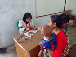 Komunitas Sadar Kesehatan Gelar Pengobatan Gratis