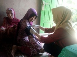 Komunitas Sahabat Ceria BerikanPelayanan Kesehatan Gratis