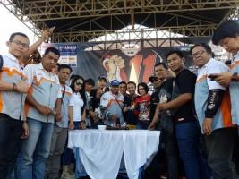 Komunitas Yamaha Vixion Rayakan Hari Jadi Ke-11