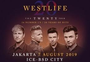 Konser Perdana Westlife di IndonesiaDigelar Agustus 2019