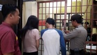 Konsumsi Sabu, Pasangan Suami Istri Ini Ditangkap Polres Tanggamus