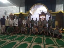 Koramil Rawajitu Bersama Warga Gelar Doa Bersama untuk Sulawesi Tengah