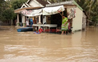 Korban Banjir di Lamsel Masih Didata