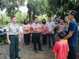 Korban Kebakaran Abung Barat Dapat Bantuan dari Pemkab Lampura