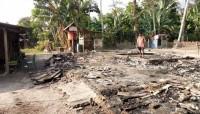 Korban Kebakaran Kandang Sapi di Bumidaya Belum Dapatkan Bantuan
