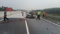 Korban Kecelakaan Tol KM 96 Baru Pulang Hajatan