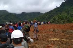 Korban Meninggal akibat Longsor di Sukabumi Bertambah, 41 Belum Ditemukan