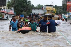 Korban Tewas Banjir di India Capai 324 Orang